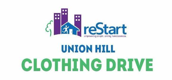 Union Hill hosts Clothing Drive benefiting reStart