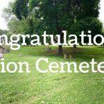 Union Cemetery receives Crosby Award