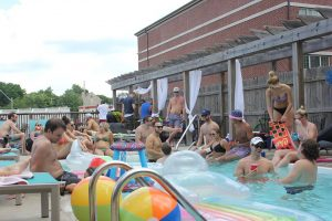 Resident Pool Party