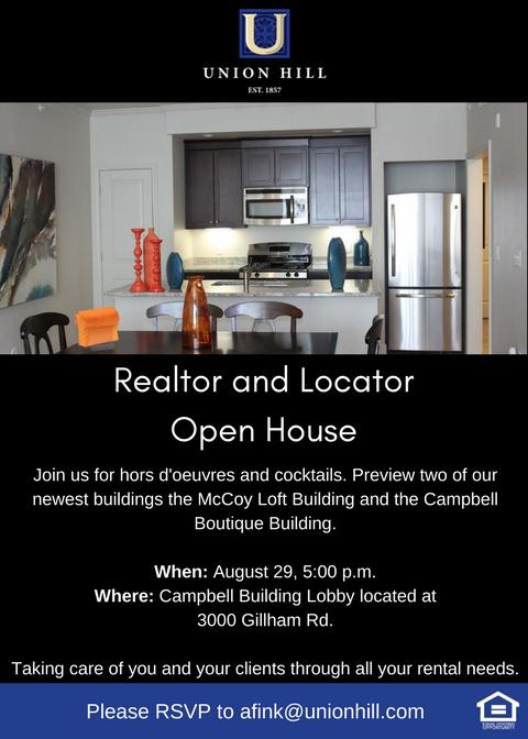Realtor & Locator Open House