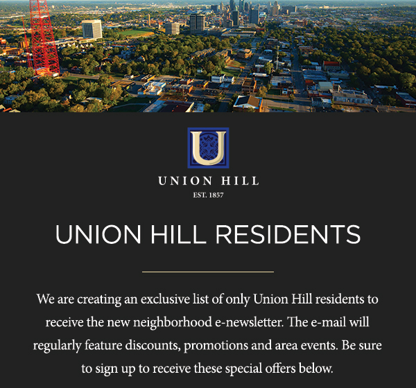 Union Hill Downtown. Perfected. Luxury Apartments